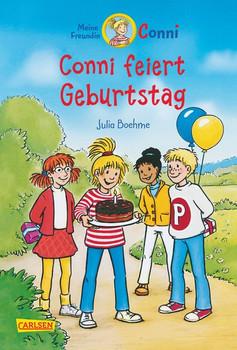 Conni-Erzählbände 4: Conni feiert Geburtstag (farbig illustriert) - Julia Boehme  [Gebundene Ausgabe]