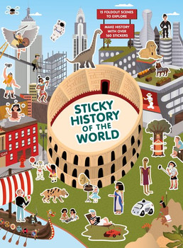 Sticky Histoy of the World - Caroline Selmes  [Taschenbuch]