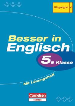 Besser in Englisch 1. Grammatik. 5. Schuljahr. Neu. (Lernmaterialien)