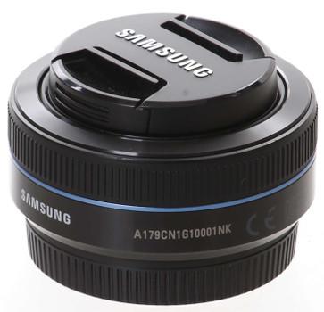 Samsung NX 16 mm F2.4 43 mm filter (geschikt voor Samsung NX) zwart