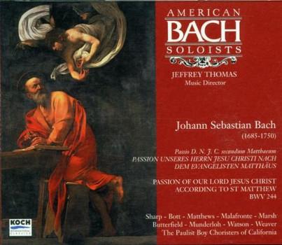 Thomas - Matthäus-Passion (Ga)