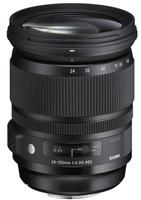 Sigma A 24-105 mm F4.0 DG HSM OS 82 mm Objetivo (Montura Sigma SA) negro