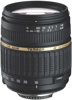 Tamron AF 18-200 mm F3.5-6.3 ASL Di IF XR II 62 mm Obiettivo (compatible con Canon EF) nero
