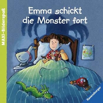 Maxi-Bilderspaß: Emma schickt die Monster fort