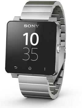 Sony SmartWatch 2 40,6mm negro con correa metálica plata