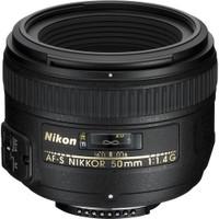 Nikon AF-S NIKKOR 50 mm F1.4 G 58 mm filter (geschikt voor Nikon F) zwart