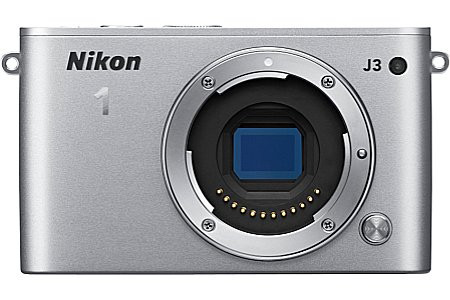 Nikon 1 J3 Systeemcamera body zilver