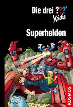 Die drei ??? Kids, Superhelden. Doppelband + Kurzkrimi - Boris Pfeiffer  [Gebundene Ausgabe]
