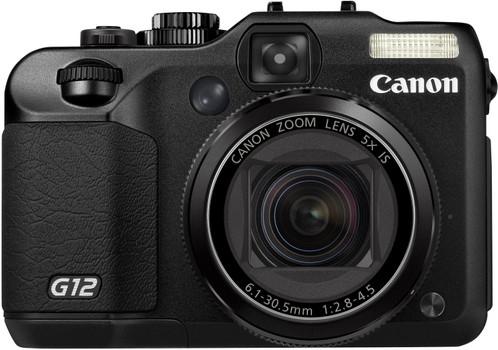 Canon PowerShot G12 negro
