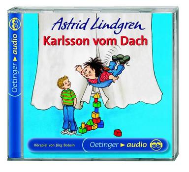Astrid Lindgren - Karlsson vom Dach. CD. (Oetinger Audio)