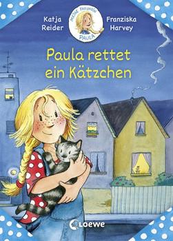 Meine Freundin Paula - Paula rettet ein Kätzchen - Katja Reider  [Gebundene Ausgabe]