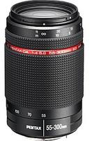 Pentax HD DA 55-300 mm 4.0-5.8 ED WR 58 mm filter (geschikt voor Pentax K) zwart