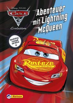 Disney Cars 3: Abenteuer mit Lightning McQueen. Lesespaß und Rätsel [Gebundene Ausgabe]