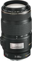 Canon EF 75-300 mm F4.0-5.6 IS USM 58 Objetivo (Montura Canon EF) negro