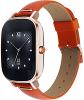Asus ZenWatch 2 36,8 mm or rouge au bracelet en cuire orange [Wi-Fi, Holiday Edition]