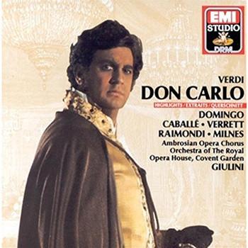 Domingo - Verdi: Don Carlo (Großer Querschnitt) [italienische ]
