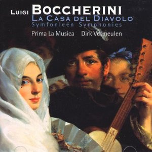 Vermeulen - Boccherini Sinfonien