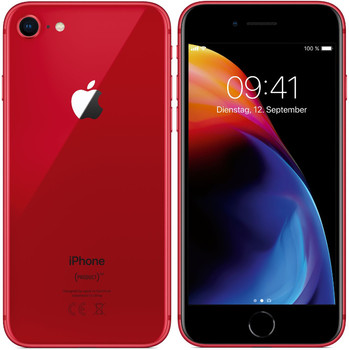 Apple iPhone 8 64GB [(PRODUCT) RED Special Edition] rood