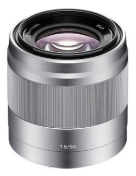 Sony E 50 mm F1.8 OSS 49 mm Objectif (adapté à Sony E-mount) argent