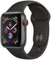 Apple Watch Series 4 40mm caja de aluminio en gris espacial y correa deportiva negra [Wifi + Cellular]