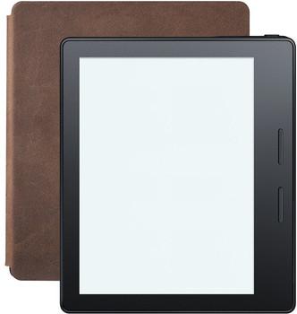 """Amazon Kindle Oasis 6"""" 4 Go [Wi-Fi, incl. housse de chargement en cuir, modèle 2016] noisette"""