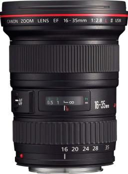 Canon EF 16-35 mm F2.8 L USM II 82 mm Objectif (adapté à Canon EF) noir