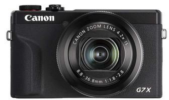 Canon PowerShot G7 X Mark III negro