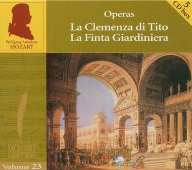 """Benelli - Mozart: Vol.23 Opern """"La clemenza di Tito""""; """"La finta giardiniera"""""""