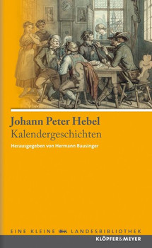 Kalendergeschichten - Johann Peter Hebel  [Gebundene Ausgabe]