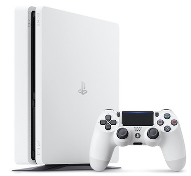 Sony Playstation 4 slim 500 GB [incl. draadloze controller] wit