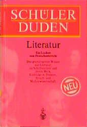 (Duden) Schülerduden, Die Literatur - Gerhard Kwiatkowski