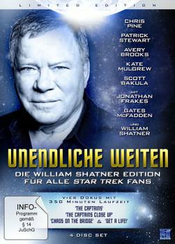 Unendliche Weiten - Die William Shatner Edition für alle Star Trek Fans (4 Discs)