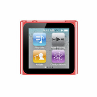 Apple iPod nano 6G 8GB rood [(PRODUCT) RED Special Edition]