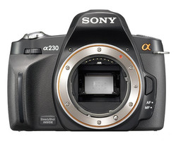 Sony Alpha 230 Cuerpo negro