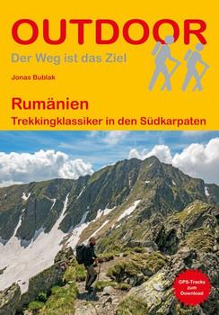 Rumänien. Trekkingklassiker in den Südkarpaten - Jonas Bublak  [Taschenbuch]