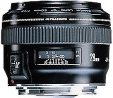Canon EF 28 mm F1.8 USM 58 mm Objetivo (Montura Canon EF) negro