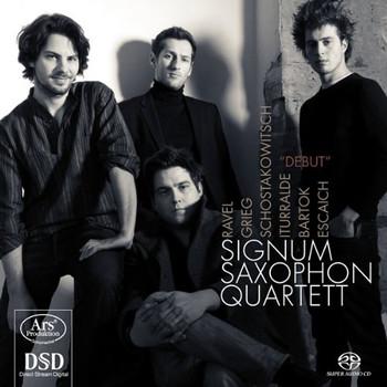 Signum Saxophonquartett - Debut - Werke für Saxophonquartett