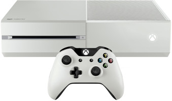 Microsoft Xbox One 500 Go [incl. Wireless Controller] blanc