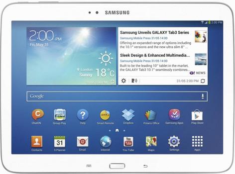 "Samsung Galaxy Tab 3 10.1 10,1"" 32GB [wifi + 3G] wit"