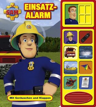 Feuerwehrmann Sam - Einsatzalarm,Klappen-Geräusche-Buch [Gebundene Ausgabe]