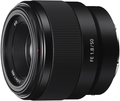 Sony FE 50 mm F1.8 (compatible con Sony E-mount) nero