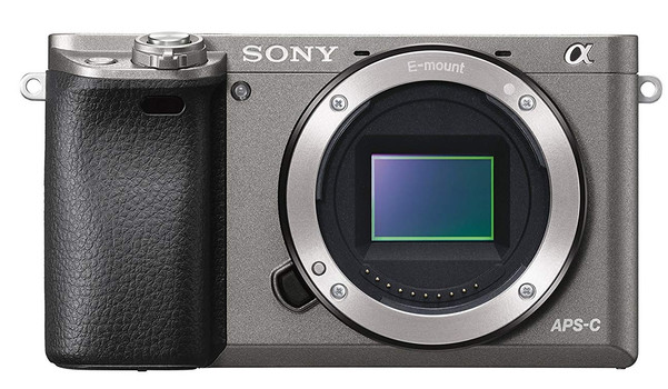 Sony Alpha 6000 body grijs