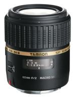 Tamron SP AF 60 mm F2.0 Di II Macro 1:1 55 mm Objectif  (adapté à Canon EF) noir