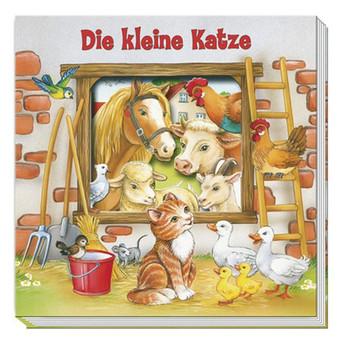 Fensterpappenbuch - Die kleine Katze
