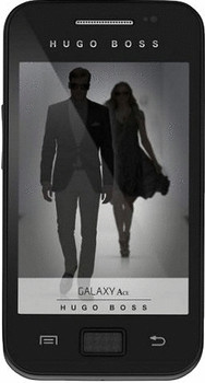 Samsung S5830 Galaxy Ace [Hugo Boss Edition] zwart