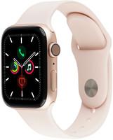 Apple Watch Series 4 40mm caja de aluminio en oro y correa deportiva rosa arena [Wifi + Cellular]