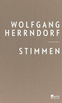 Stimmen - Wolfgang Herrndorf  [Gebundene Ausgabe]
