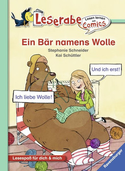 Ein Bär namens Wolle - Stephanie Schneider  [Gebundene Ausgabe]