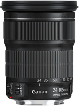 Canon EF 24-105 mm F3.5-5.6 IS STM 77 mm Filtergewinde (Canon EF Anschluss) schwarz