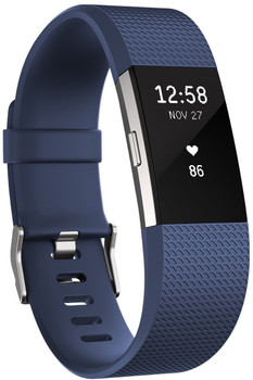 Fitbit Charge 2 Large blauw